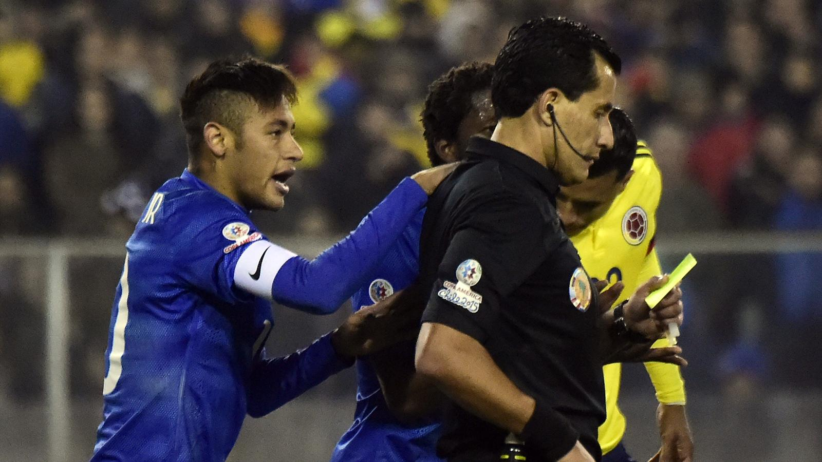 Coppa America, Neymar perde la testa