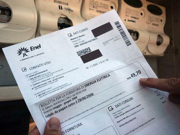 Risarcimento per bollette Enel