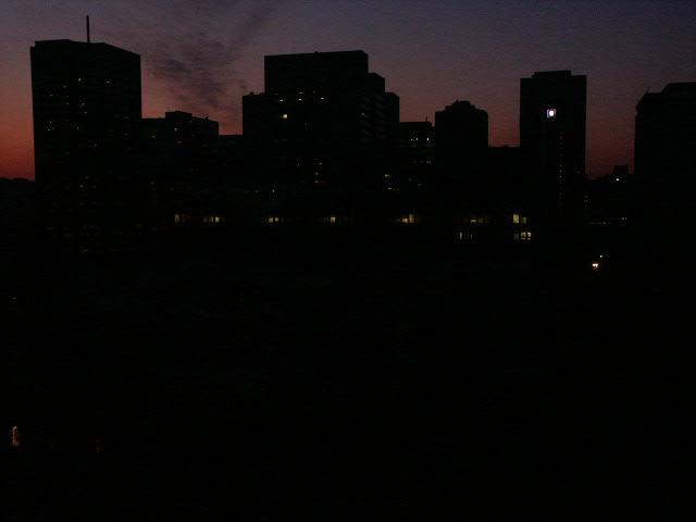 Piana del Sole al buio