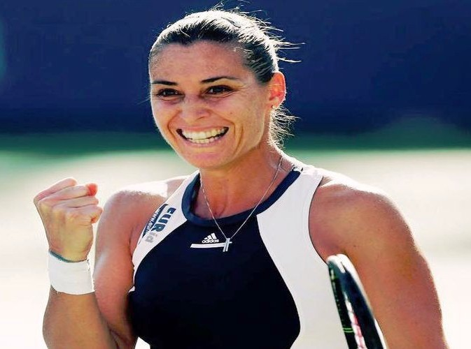 Flavia Pennetta la regina del tennis