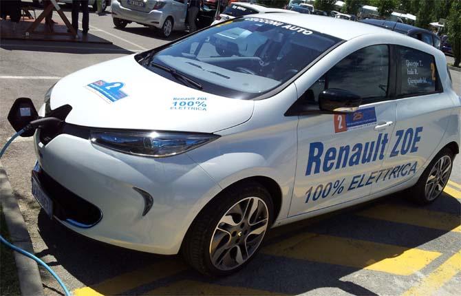 Car sharing elettrico a Palermo