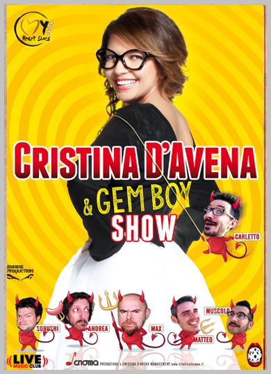 Cristina D'Avena e i Gem Boy Show