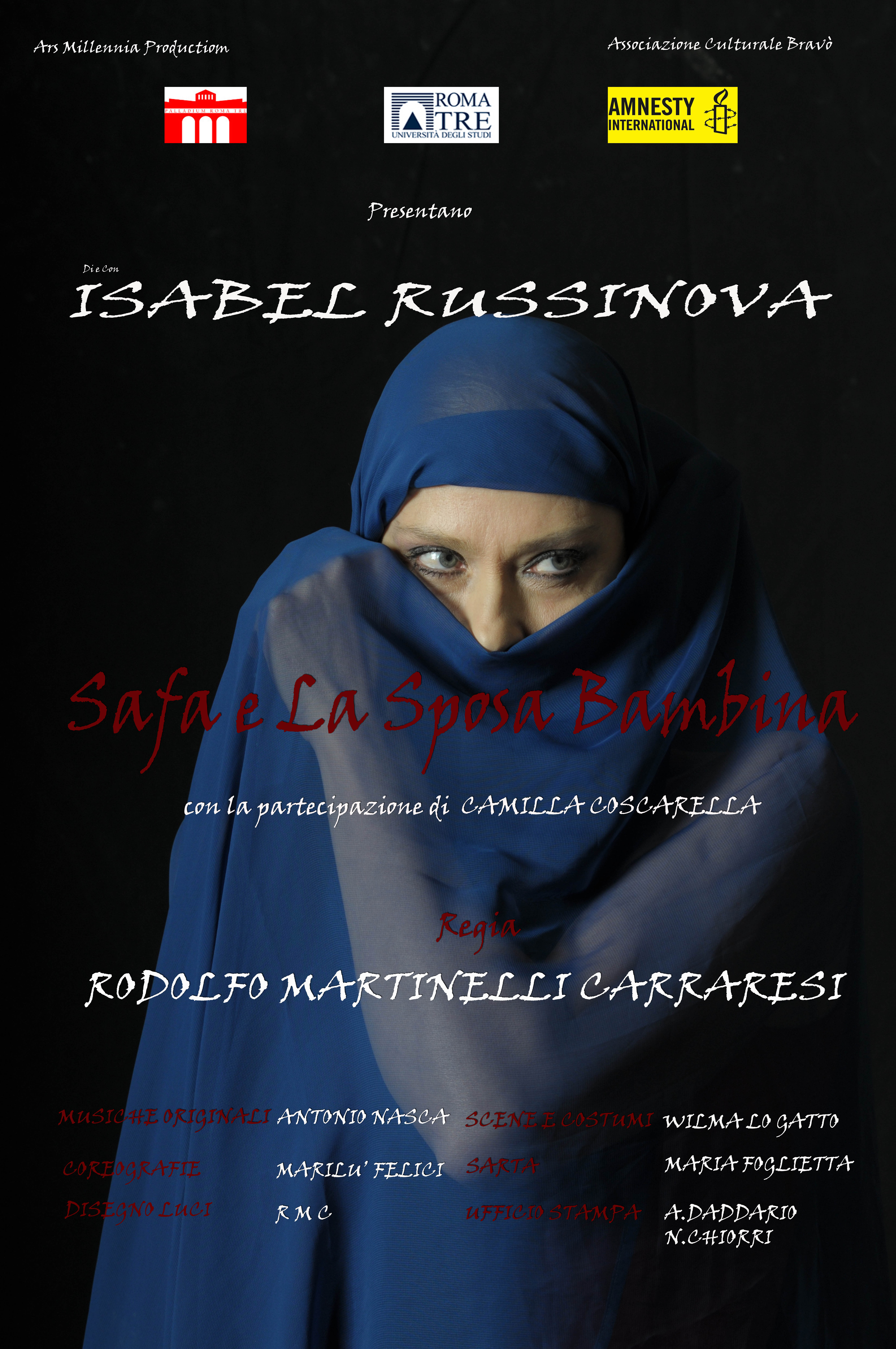 Isabel Russinova: un evento teatrale per il sociale