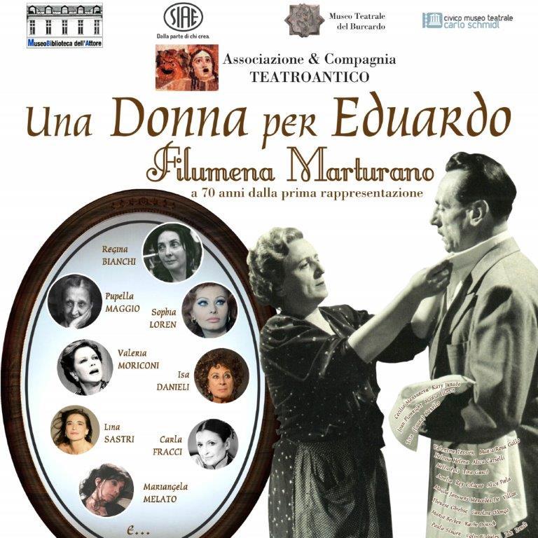 Filumena Marturano: a Roma la mostra