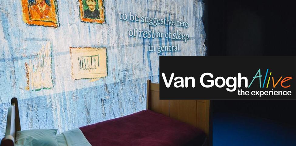 Van Gogh Alive, a Roma la mostra