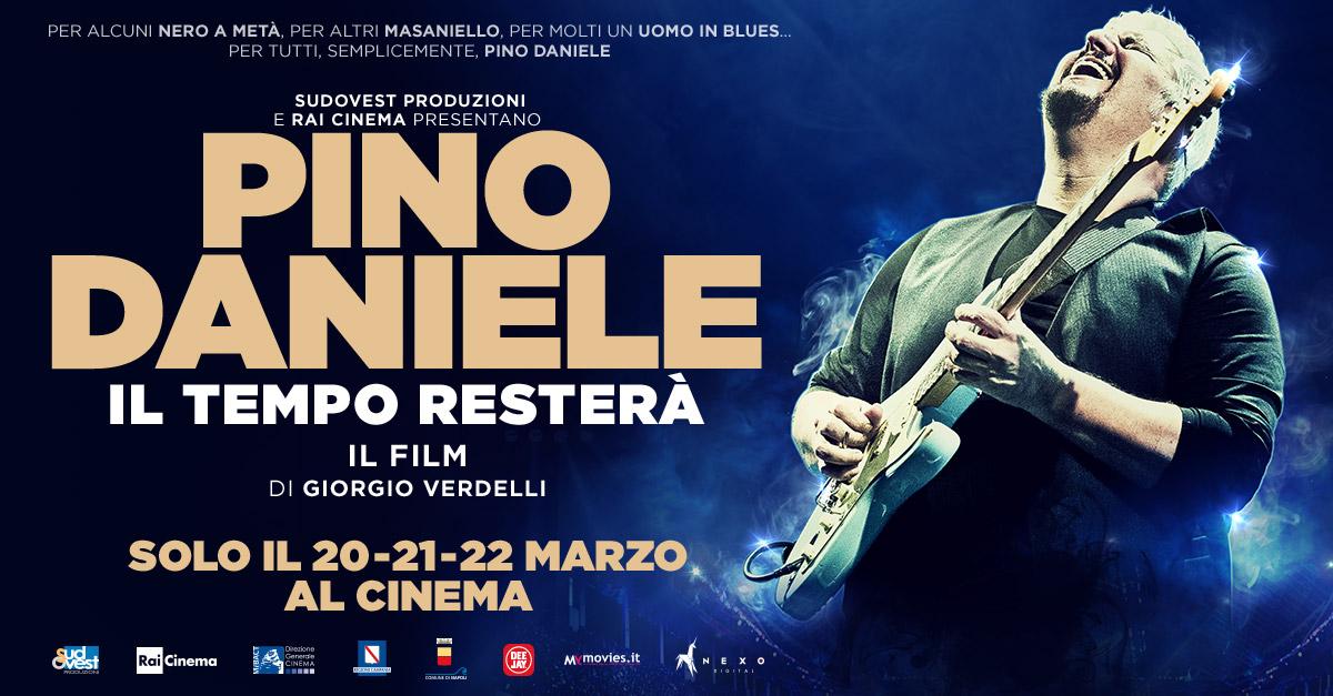 Il tempo resterà: il film su Pino Daniele