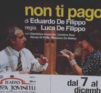 Non ti pago, omaggio a Luca De Filippo all'Ambra Jovinelli