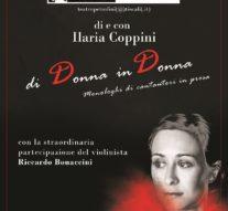 Di Donna in Donna – Spettacolo teatrale di Ilaria Coppini