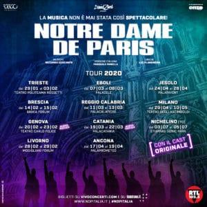 NOTRE DAME DE PARIS: DUE NUOVE REPLICHE DI SUCCESSO