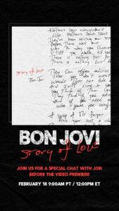 "BON JOVI: ""STORY OF LOVE"""