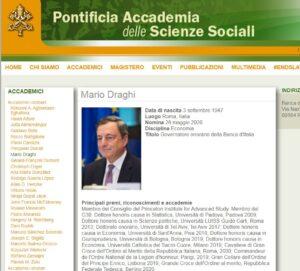 PAPA FRANCESCO INCONTRA IL PREMIER MARIO DRAGHI